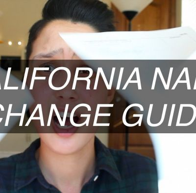 Name and Gender Change in California