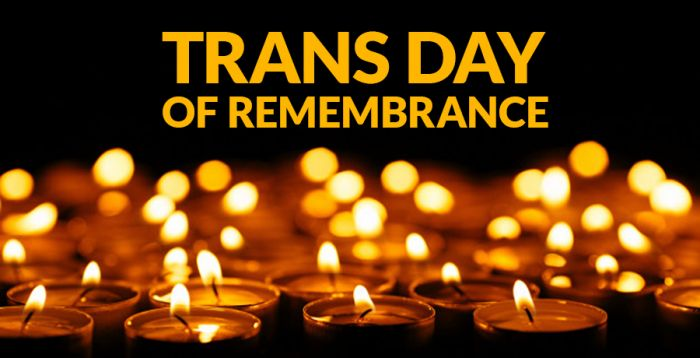 I founded Trans Day of Remembrance 20 years ago. Here's why.