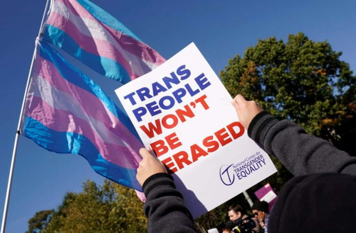 Transgender Americans Have a Message for Trump: We Won't Be Erased.